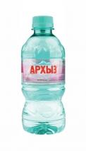 """Горная вода """"Архыз"""" 0.33 литра, пэт, 12 шт. в уп."""