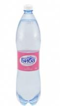 """Термальная вода """"Биба"""" газ пластиковая бутылка 1,5 л"""