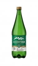 Минеральная вода «Ессентуки-4», 1 литр, газ, пэт, 6 шт. в уп.