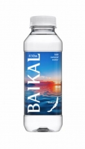 Вода BAIKAL 430, 0,45 литра, ПЭТ, 12 шт.в уп.