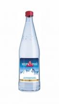 """Горная минеральная вода """"Меркурий"""" 0.5 литра, газ, стекло, 12 шт. в уп."""