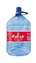 """Горная вода """"Кубай"""" 19 литров, ПЭТ одноразовая, 1 шт. в уп."""