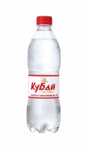 """Горная вода """"Кубай"""" 0.5 литра, пэт, газ, 12 шт. в уп."""
