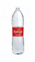 """Горная вода """"Кубай"""" 1.5 литра, ПЭТ, 6 шт. в уп."""