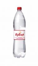 """Горная вода """"Кубай"""" 1.5 литра, газ, ПЭТ, 6 шт. в уп."""
