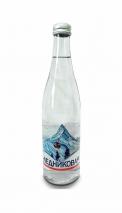Вода Ледниковая минеральная 0.5 литра, газ, стекло, 20 шт. в уп.