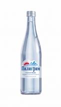 """Ледниковая вода """"Пилигрим"""" 0.5 литра, стекло, 12 шт. в уп."""