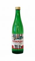 Вода Теберда-1 лечебно-столовая 0.5 литра, газ, стекло, 20 шт. в уп