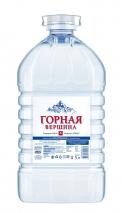 Питьевая вода «Горная Вершина»  5 ЛИТРА, ПЭТ, 2 ШТ. В УП.